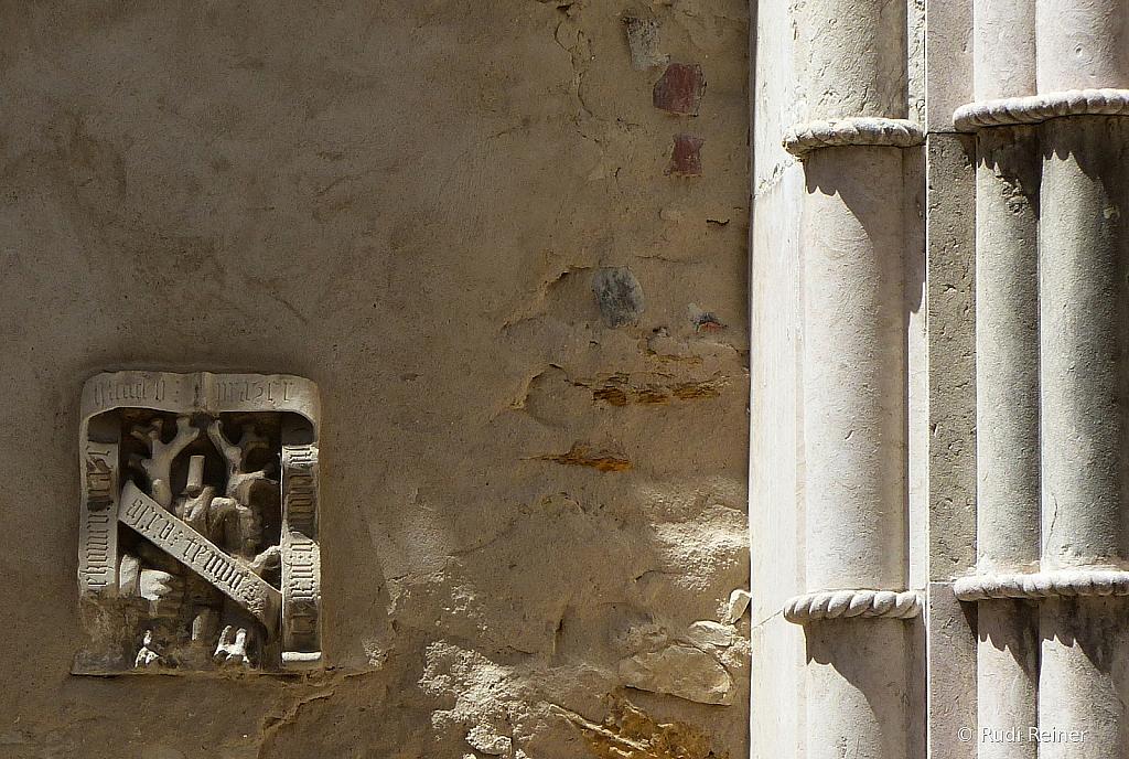Convent stone work, Lisbon