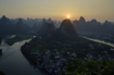 Sunset in Xingpin...