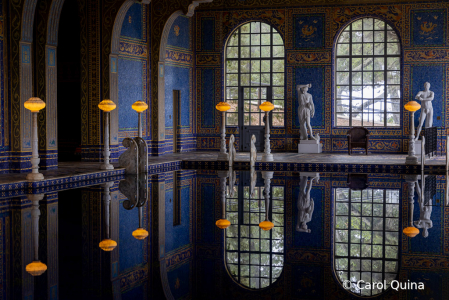 Poolside at the Hearst Castle