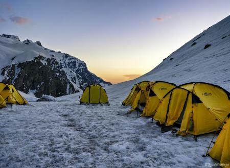 Campsite at Dhunda