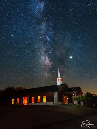 Chapel Under the Milky Way