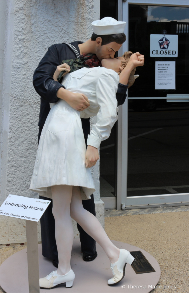 Sculture by Seward Johnson in Troy