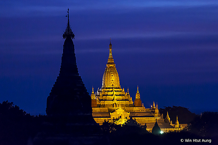 Blue Hour at Bagan