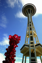 Abstract and Architecture - Space Needle