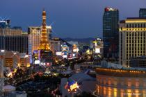 Vegas city scape