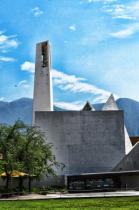 A  CHURCH  AND  A  MOUNTAIN
