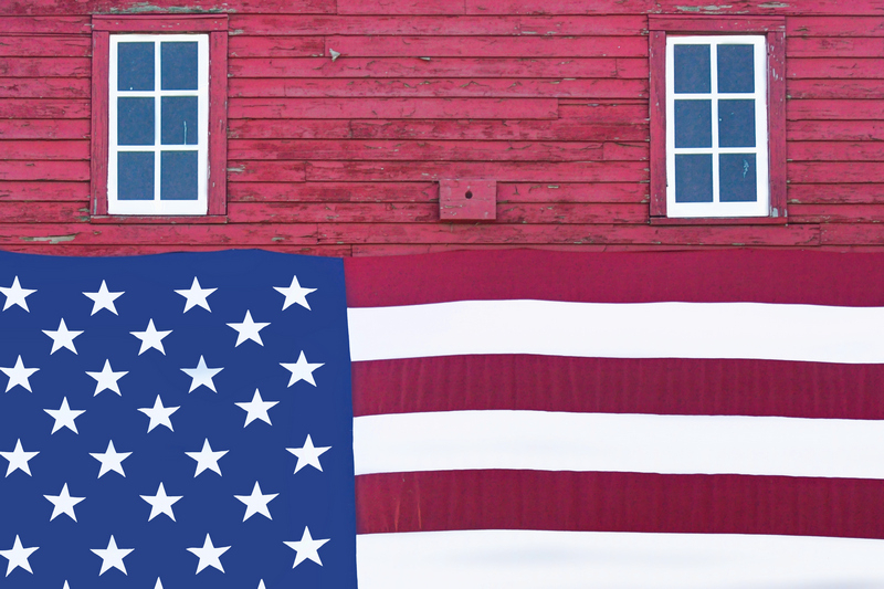 Stars and Stripes - Rural Abstract No. 3