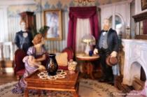 Inside Old Dollhouse