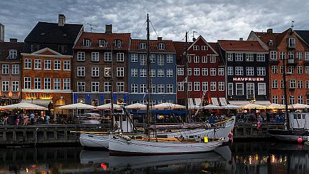 Nightfall on Copenhagen