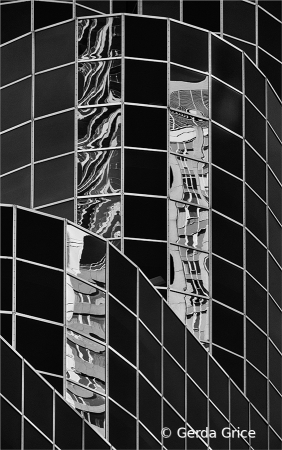 Reflections on the Eaton Centre, Toronto