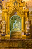 Schwedagon Pagoda Detail