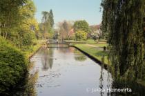 Crossing The Canal Bridge