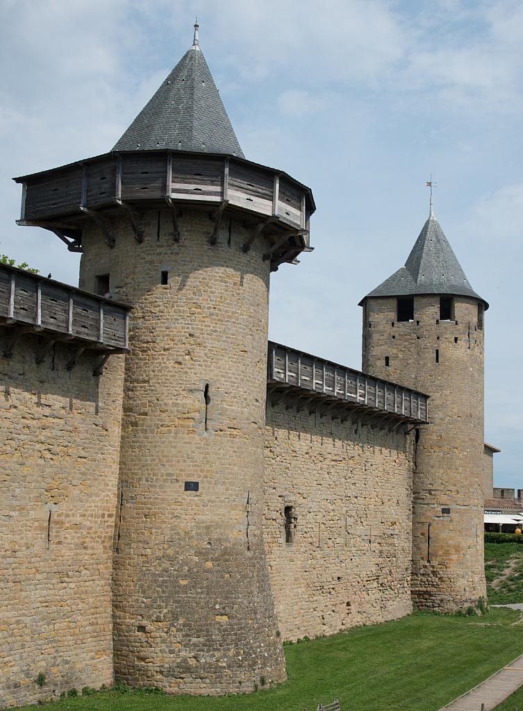 Carcassonne Castle Wall