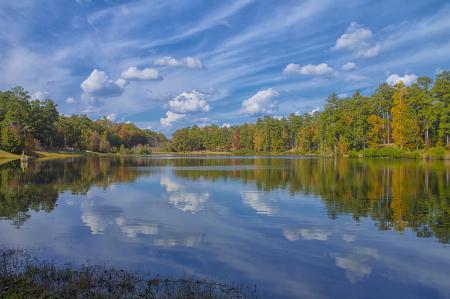 Sunny Fall Reflection