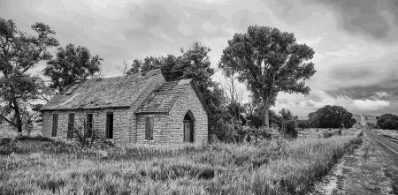 Kansas stone school
