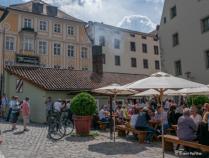 Alte Wurstkuche  {Old Sausage Kitchen} very famous