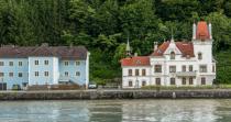 interesting buildings on shore
