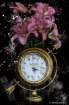 Clock and Flowers...