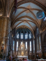 Inside photo of  Matthias church