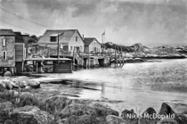 Fishing Village in Nova Scotia