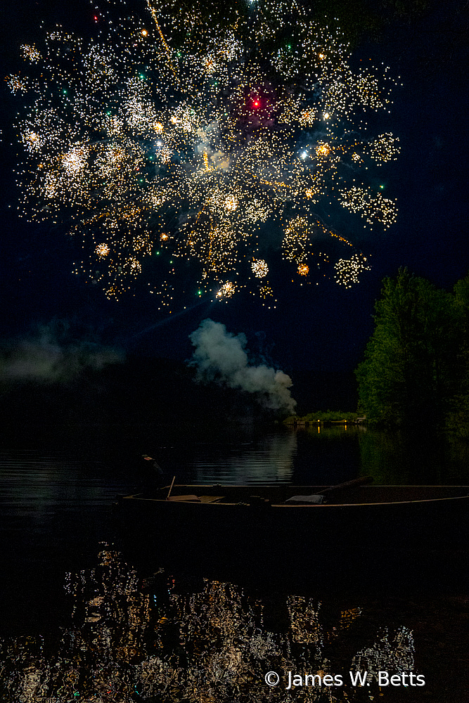 Fireworks in Maine