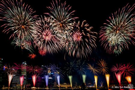 NDP 2019 Fireworks