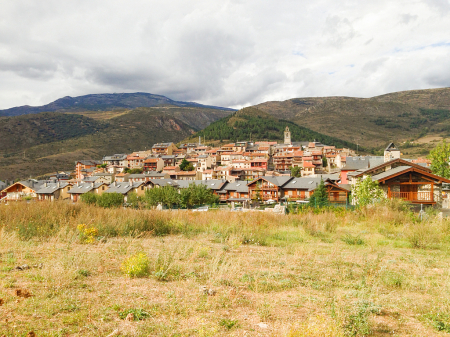 Pyrenees Mountain Village