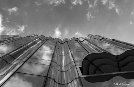 Looking up, London