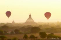 HotAir Balloons over Bagan