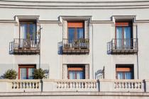 Balconies in Serrano Street