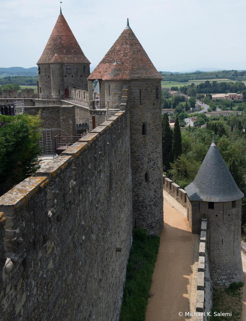 Carcassonne Castle Turrets