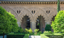 Aljaferia Palace Courtyard