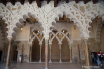 Aljaferia Palace Arches
