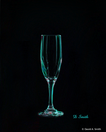 Champagne Glass 2