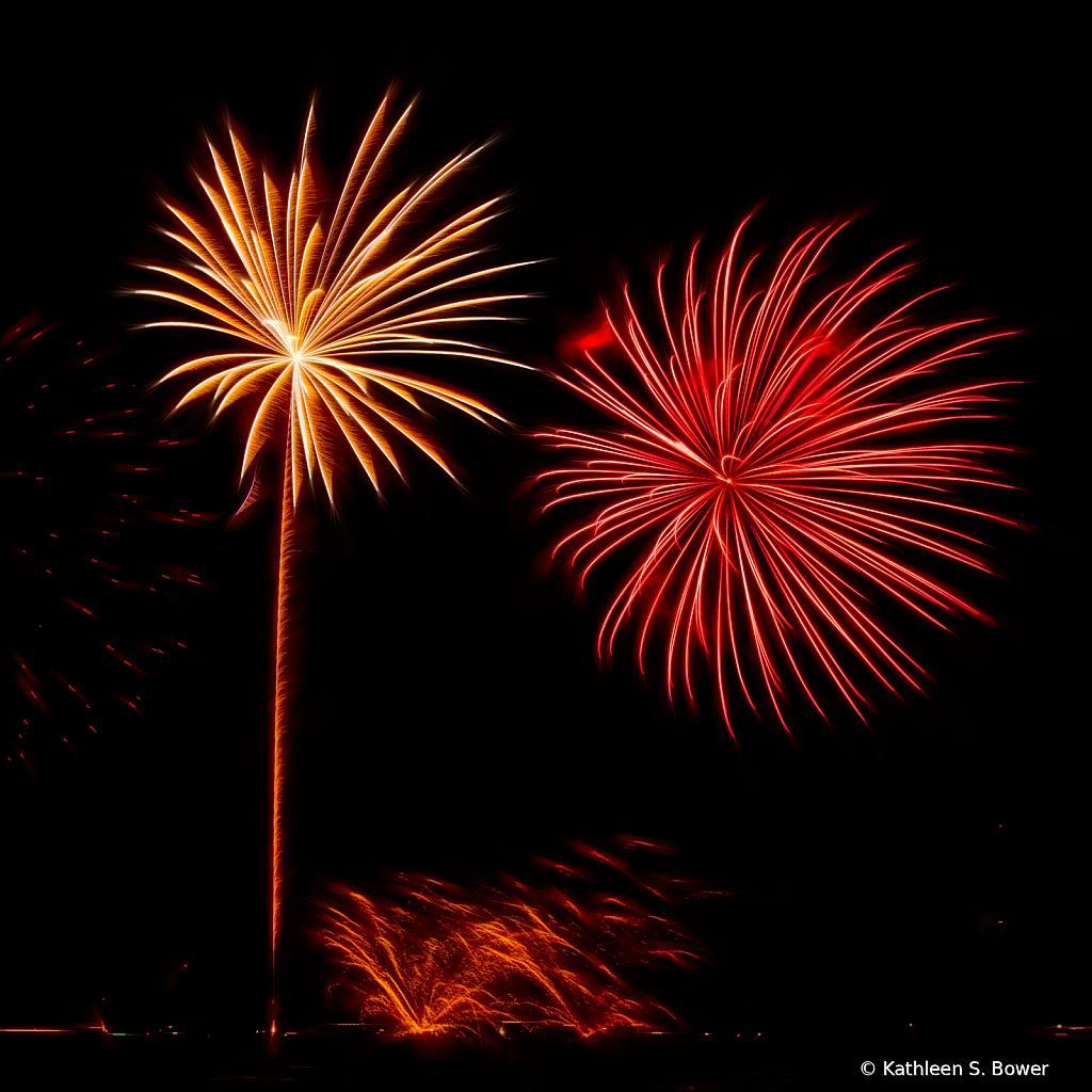 Fireworks at Long Lake