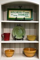 In kitchen cabinet