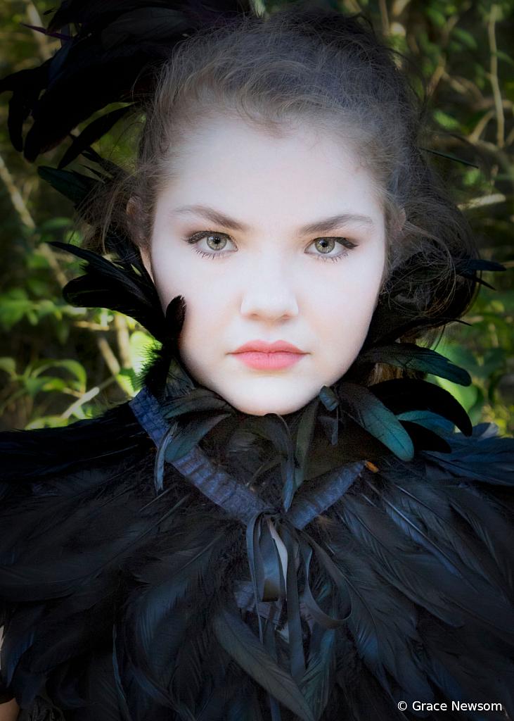 Feather Collar - ID: 15737340 © Grace Newsom
