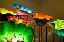 Dale Chihuly Exhibit Pots