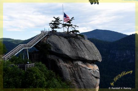 Chimney Rock . . .