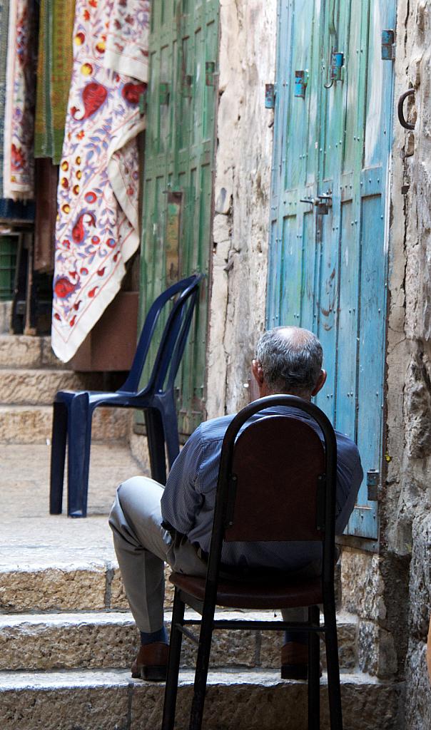 Old Jerusalem Shopkeeper