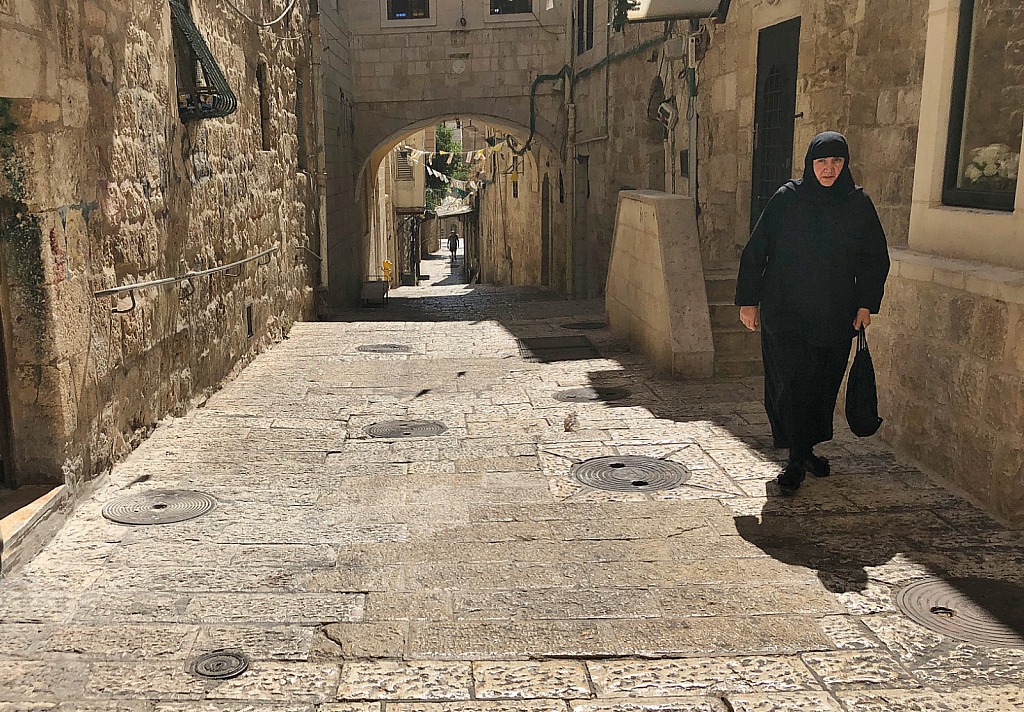 Old Jerusalem Street - ID: 15738822 © David Resnikoff