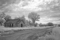 kansas rural stone school