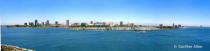 Long Beach Harbor in Summer Pano