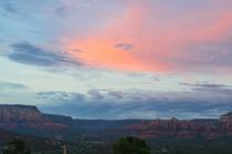 Pink Sky over Sedona