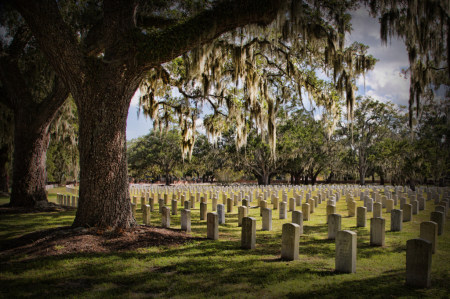 National Cemetery in Beaufort, SC