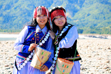 Two Kachin Girls