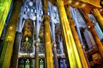 Inside La Sagrada Familia