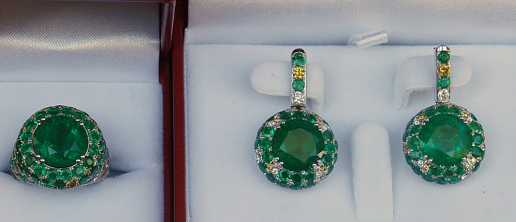 Green Bling for St. Patty
