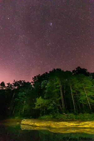 Light Paint under the stars