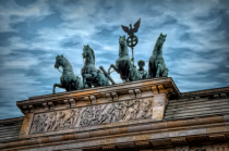 Atop the Brandenburg Gate